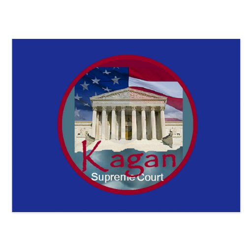 Postal del Tribunal Supremo de Elena Kagan