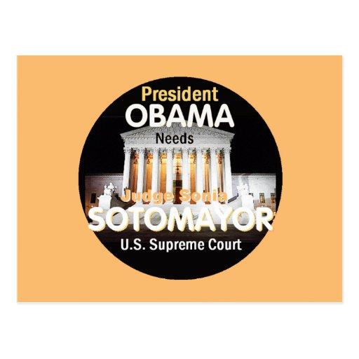 Postal del Tribunal Supremo de Sotomayor