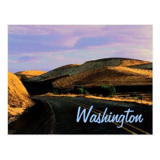 Postal del trigo de Washington