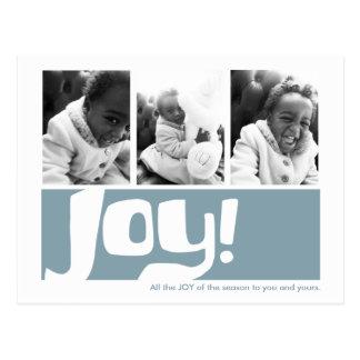 Postal del tríptico de la alegría y de la paz