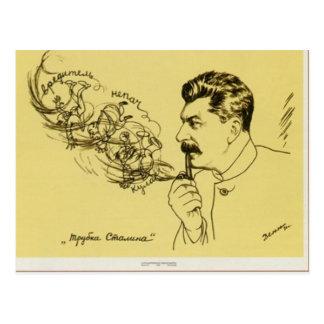Postal del tubo de Stalin