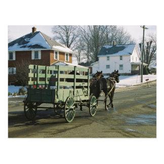 Postal del U-Recorrido de Amish