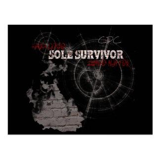 Postal del único superviviente de la apocalipsis d