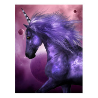 Postal del unicornio