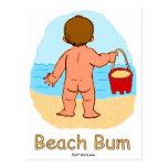 Postal del vago de la playa