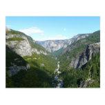 Postal del valle de Yosemite