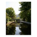 Postal del valle del canal de Llangollen