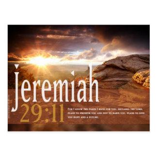 Postal del verso de la biblia