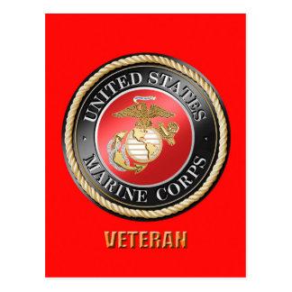 Postal del veterano del USMC
