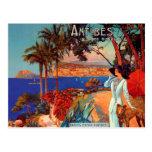 Postal del viaje de Antibes Cote d'Azur del