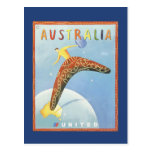 Postal del viaje de Australia