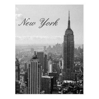 Postal del viaje de la escritura de New York City