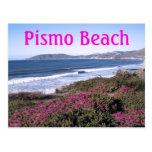 Postal del viaje de la playa de Pismo