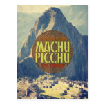 Postal del viaje de Machu Picchu Perú