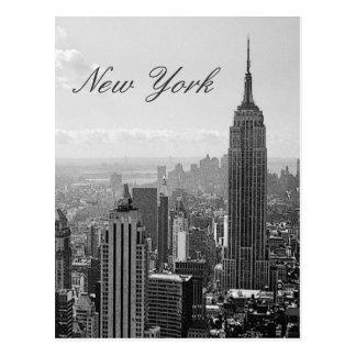 Postal del viaje de New York City del vintage