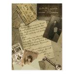 Postal del viaje de Nueva York del vintage