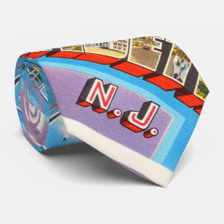 Postal del viaje del vintage de Elizabeth New Corbatas Personalizadas