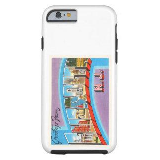 Postal del viaje del vintage de Elizabeth New Funda Resistente iPhone 6