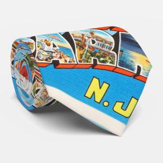 Postal del viaje del vintage de New Jersey NJ del Corbata