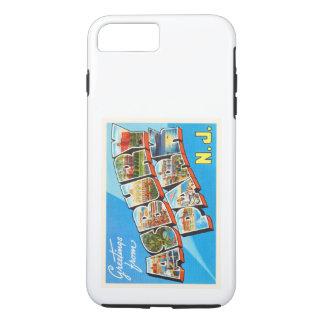Postal del viaje del vintage de New Jersey NJ del Funda iPhone 7 Plus