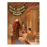 Postal del vintage:  Belleza del whisky de Nelson