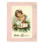 """""""Postal del vintage de las Felices Navidad"""""""
