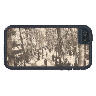 Postal del vintage de Marsella Francia iPhone 5 Protector