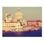 Postal del vintage de Venecia
