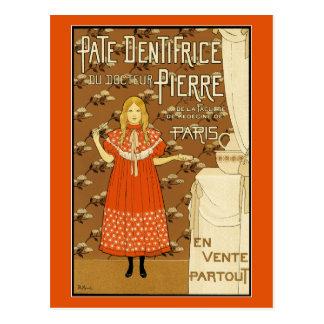 Postal del vintage:  Dentífrico de la coronilla