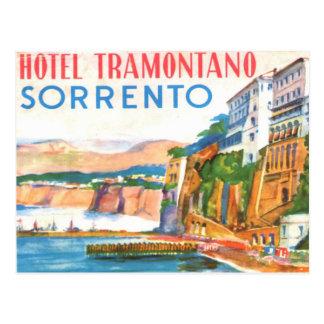 Postal del vintage - hotel Tramontano Sorrento