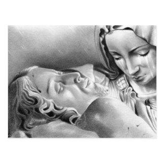Postal del Virgen María del Jesucristo