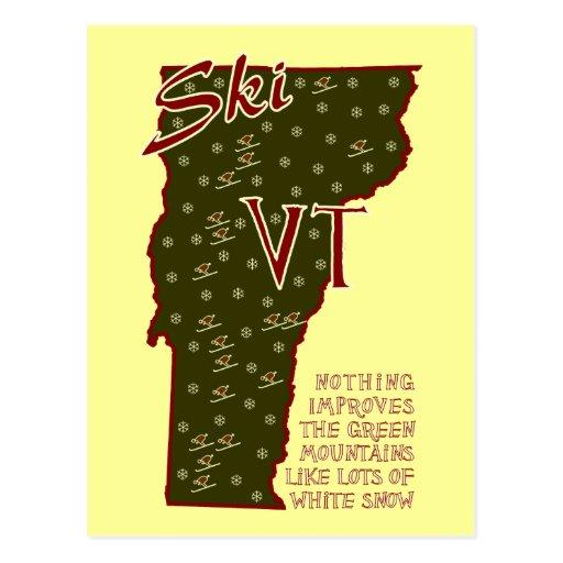 Postal del VT del esquí