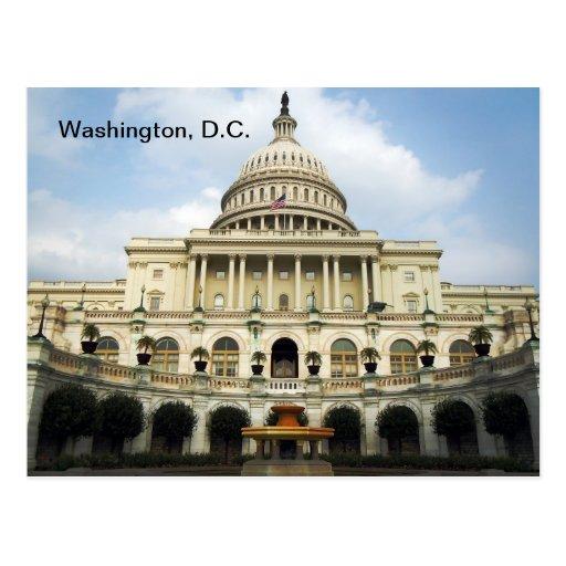Postal del Washington DC