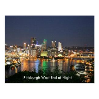 Postal del West End de Pennsylvania Pittsburgh