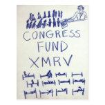 postal del xmrv del fondo del KP-congreso