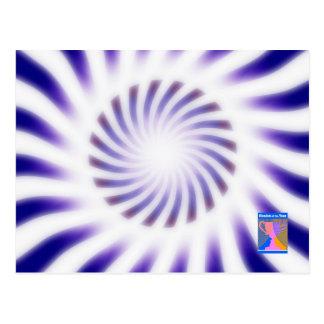 Postal dinámica de la luminancia y del movimiento