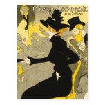 Postal: Diván Japonais por Toulouse-Lautrec Tarjetas Postales