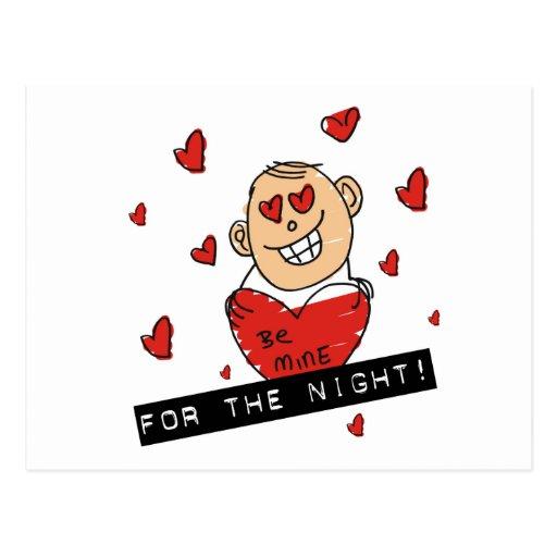 Postal divertida del el día de San Valentín