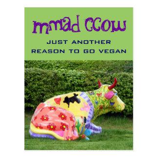 postal divertida del vegano