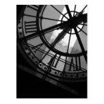 Postal d'Orsay del reloj de Musee