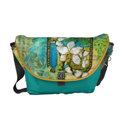 """""""Postal Dragonfly"""" Messenger Bag"""