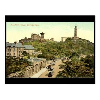 Postal, Edimburgo, colina de Calton Tarjetas Postales