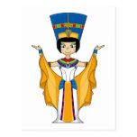Postal egipcia de la reina Nefertiti
