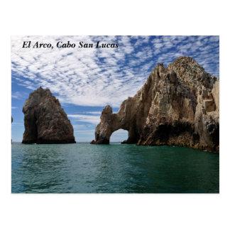 Postal - EL Arco, Cabo San Lucas, México