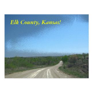 Postal:  ¡El condado de Elk, Kansas!