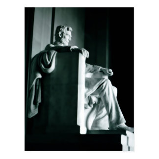 Postal - el Lincoln memorial
