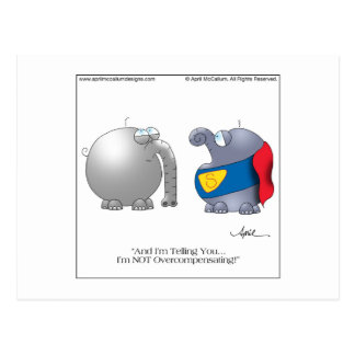 Postal en abril McCallu del dibujo animado QUE COM