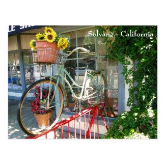¡Postal enrrollada de Solvang