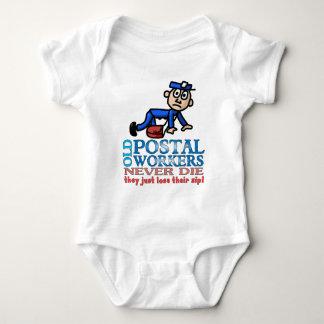Postal Epitaph Baby Bodysuit