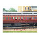 Postal escénica de Conway RR